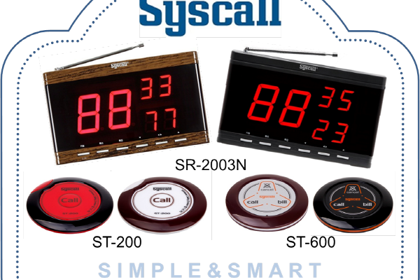 TABLE CALL (SYSCALL) ; WIRELESS CALLING SYSTEM 021-7873562 Hp:081316770888