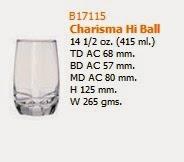 Gelas ocean Charisma Hi Ball