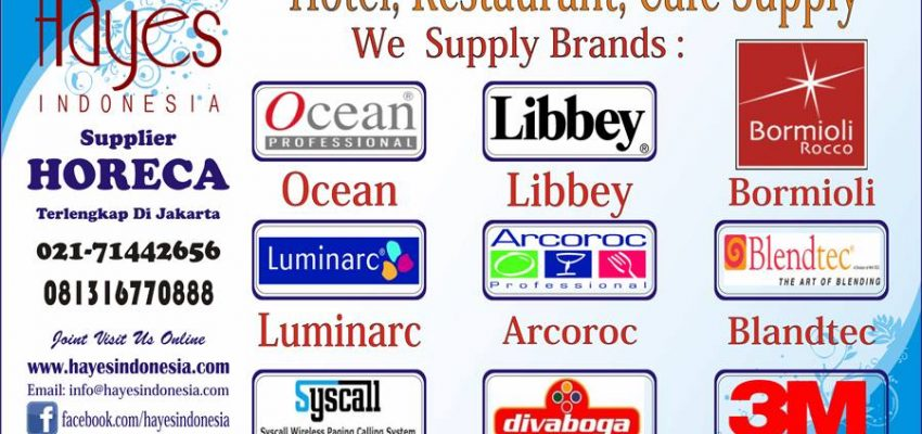 Distributor Libbey Indonesia Telp:021-7873562 Hp:0811142656