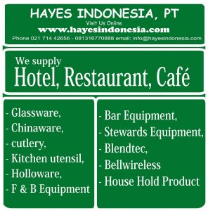 supplier hotel, supplier cafe, supplier restoran