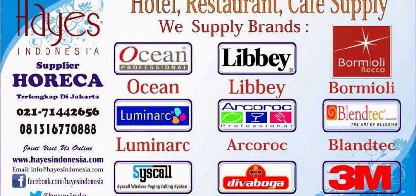 Supplier kebutuhan dapur hotel dan cafe di jakarta 021-7873562 Hp:081316770888