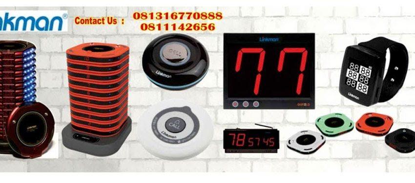 Linkman paging system 021-7873562 Hp:081316770888